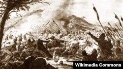 Бітва паўстанцаў пад Рацлавіцамі.