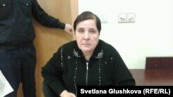 Ольга Колтунова, мать Вадима Курамшина. Астана, 25 ноября 2013 года.