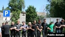 Війна з забудовиками у Донецьку, 8 червня 2011 року (фото ostro.org)