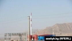 Нарын ГЭС каскады үчүн салынган курулуштар. 16-октябрь, 2014-жыл.