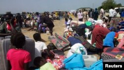 Внутрішні біженці в Південному Судані, архівне фото
