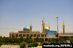 Выявы духоўных асобаў у Куме, дзе Хамэйні жыў і працаваў