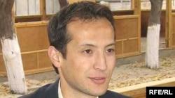 Журналист Әлішер Саипов. Ош, 24 қазан 2007 жыл.