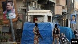 د پاکستان رینجر ځواکونه د( ناین زیرو ) په وړاندې ولاړ دي