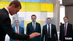 Кандидат в мэры Москвы от ЛДПР Михаил Дегтярёв перед теледебатами