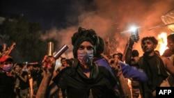 Ирактагы демонстранттар.