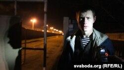 Едуард Лобау після звільнення з тюрми