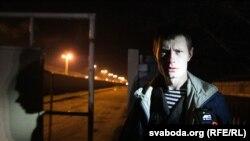 Эдуард Лобаў пасьля вызваленьня з турмы ў сьнежні 2014 году