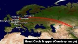 2006-жылга чейин кыргыз авиакомпаниялары Европага түз каттап турган.