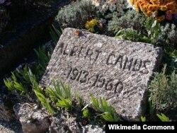 Fransa -- Albert Camus-un məzarı, 2009