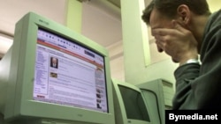 Belarusian authorities have arrested some Internet users and bloggers and cut off access to numerous websites. (file photo)