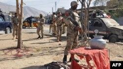 Архивска фотографија: Бомбашки напад во Балучистан на 27 октомври 2010 година.