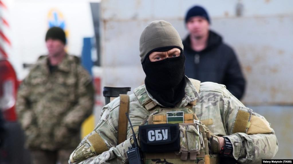 Военнослужащий СБУ