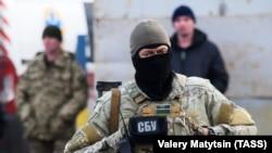 """Декабрь 2017 года, обмен пленными, контрольно-пропускной пункт """"Майорск"""""""