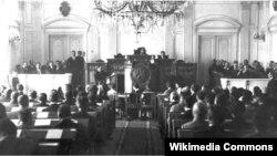 საქართველოს პარლამენტი - 1918 წელი