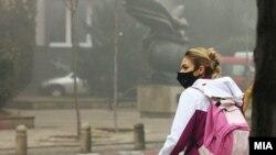 Архива: Загаден воздух, смог и магла во Скопје. 14.12.2017