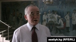 Ректор Кыргызской государственной медицинской академии Аширалы Зурдинов.