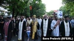 Litija Srpske pravoslavne crkve u Podgorici, 14. jun