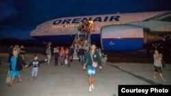 Магадан. Украинские беженцы прибыли на Колыму