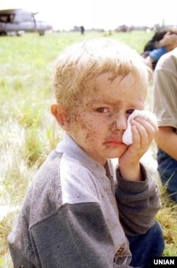 3-річний Остап Хміль