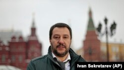 Лідер партії «Ліга» Матео Сальвіні