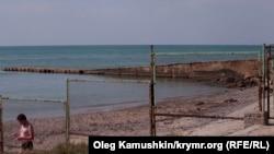 Крым, Песчаное, архивное фото