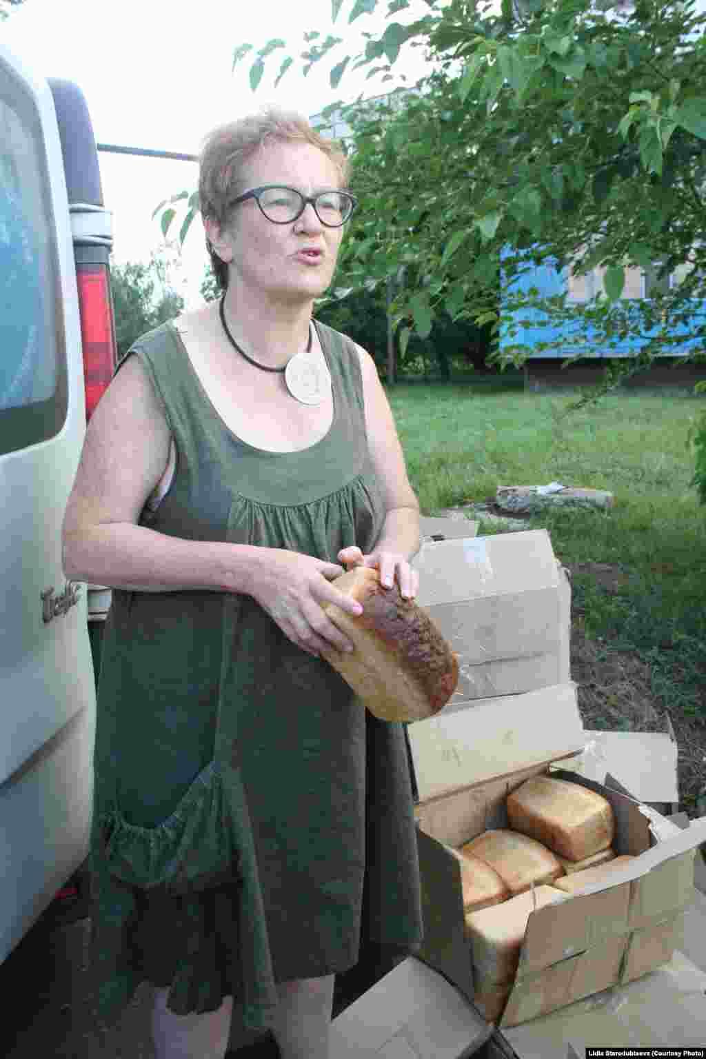 Виктория Ивлева, фотограф, волонтер в Славянске.