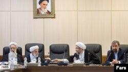 Expediency Discernment Council. Mohsen Rezaei far right. File photo