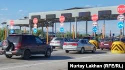 Пост-терминал на платной дороге Алматы – Хоргос.
