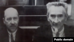 Антон Луцкевіч і публіцыст Уладзімер Самойла. 1930-я гг.