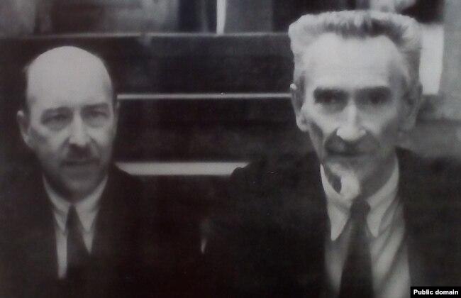 Уладзімер Самойла і Антон Луцкевіч. 1930-я гг.