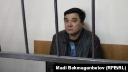 Прихожанин протестантской церкви адвентистов седьмого дня Ыкылас Кабдуакасов, обвиняемый в «разжигании религиозной розни». Астана, 9 октября 2015 года.