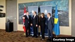 Ministri i Jashtëm i Kosovës, Enver Hoxhaj, në Ministrinë e Jashtme të Kanadasë, 24 korrik 2013