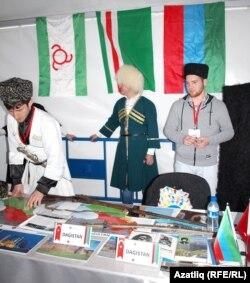 Кавказ төбәкләре стенды