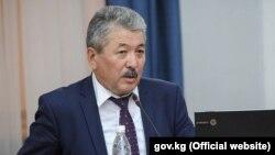 Министр финансов Адылбек Касымалиев.