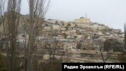 Вид на село Губден, Дагестан (архивное фото)
