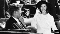 Джон и Жаклин Кеннеди в 1963 году