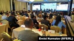 «Финансы рыногундагы интеграциялык процесстер: Евразия жана глобалдык экономика» аттуу конференция. Бишкек, Кыргызстан.