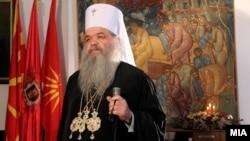 Поглаварот на Македонската православна црква г.г. Стефан.