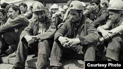 Mineri sătui de tradiția stahanovistă, Donetsk 1993