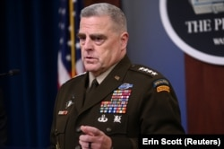 The chairman of the U.S. Joint Chiefs of Staff, General Mark Milley (file photo)