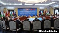 VII заседание ТюркПА. Бишкек, 8 декабря 2017 года.