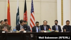 The fourth round of four-way peace talks in February.