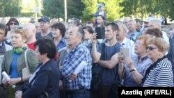 Чаллыда пенсия яшен арттыруга каршы пикет (22 июнь)
