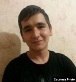 Gənc yazıçı Əhməd İsmayılov.