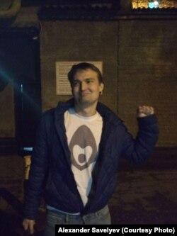 Михаил Беньяш сразу после освобождения