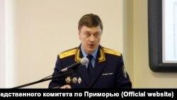 Отстраненный от должности главы приморского Следкома Сергей Грызыхин