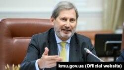 9 листопада Йоганнес Ган прибув до України з офіційним візитом