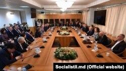 Deputații socialiști la Moscova