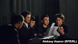 Empire of Choir ұжымының өнер көрсетуі. Алматы, 2 желтоқсан 2018 жыл
